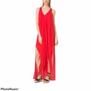 MICHAEL KORS Ruffled Caftan Dress